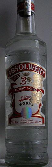 "Wódka ""Absolwent"""