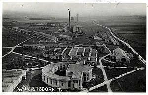 Friedrich Mandl - The Wöllersdorfer cartridge factory, from October 1933, the site of the holding camp Wöllersdorf
