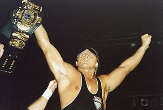 Owen Hart - Hart won every major championship in the WWF, except for the WWF Championship he is seen holding here