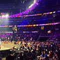 WWE 205 Live beach ball in audience, April 4, 2017.jpg