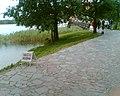 W drodze na zamek - na wyspie Karvine (Karaimu), gdzie można wypożyczyć łódki i inne jednostki pływające i ...odpłynąć - panoramio.jpg