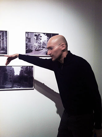Walid Raad - Walid Raad showing and discussing his works at the Hasselblad Foundation in Gothenburg, Sweden, 2011