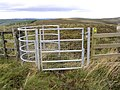 Walker's access gate on Blackgrain Height - geograph.org.uk - 556622.jpg