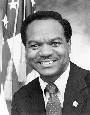 Non-voting members of the United States House of Representatives - Walter E. Fauntroy, delegate from the District of Columbia from 1971 to 1991