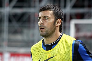 Walter Samuel - Walter Samuel with Internazionale as a substitute.