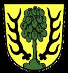Das Wappen von Asperg