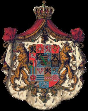 Princess Clémentine of Orléans - Image: Wappen Sachsen Coburg Gotha