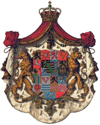 Giovanna of Italy - Image: Wappen Sachsen Coburg Gotha