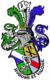 Coat of arms of the Strasbourg KDSt.V Badenia zu Frankfurt am Main in CV.png