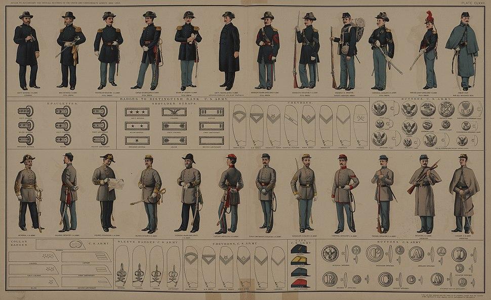 War of the Rebellion Atlas Plate 172