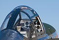 Warbirds, Lightning P-38 cockpit and instrumentation.jpg
