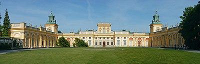 Wilanów-Palast, Warschau (Quelle: Wikimedia)