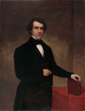 Washington Hunt - Gubernatorial portrait of Washington Hunt.
