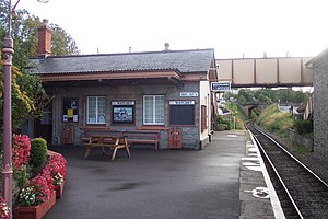 Watchet railway station - The ticket office