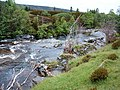 Waterfall and fish ladder - geograph.org.uk - 478672.jpg