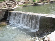 Waterfall at Medicine Park Creek, OK IMG 6987