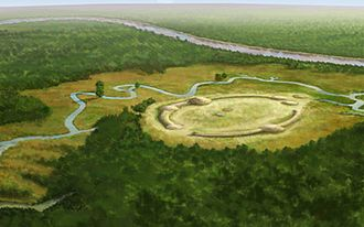 History of Louisiana - Watson Brake, the oldest mound complex in North America