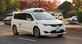 Self-driving car Road vehicle that is capable of moving safely with little or no human input