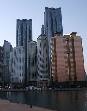 Haeundae Doosan We've the Zenith - We've the Zenith Towers in Marine City, Haeundae District.