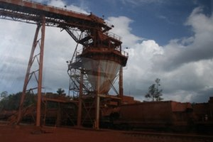 Weipa, Queensland - One of the world's largest Bauxite mines in Weipa, Australia