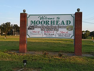 Moorhead, Mississippi City in Mississippi, United States