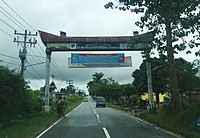 Welcome gate to Sipoholon, Tapanuli Utara.jpg