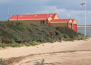Wells-next-the-Sea - Wells-next-the-sea lifeboat station.