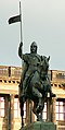 Wenceslaus I Duke of Bohemia equestrian statue in Prague 1.jpg