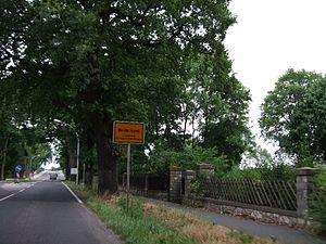 Werder (Havel) - Werder (Havel) city limit sign