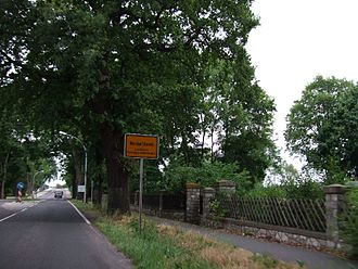 Werder (Havel) - Werder (Havel) city limit sign