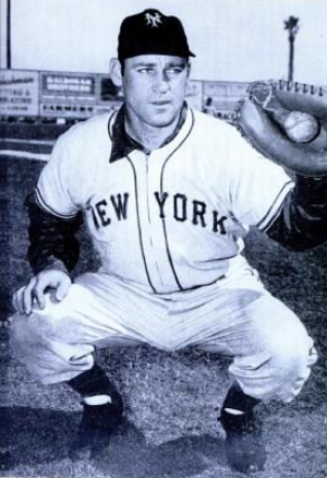 Wes Westrum - Westrum with the New York Giants in 1955