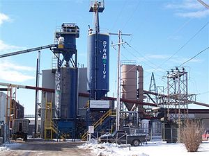 Dynamotive Energy Systems - Dynamotive's 130tpd plant in West Lorne, Ontario