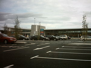 A1(M) motorway - Wetherby Services on the A1(M).