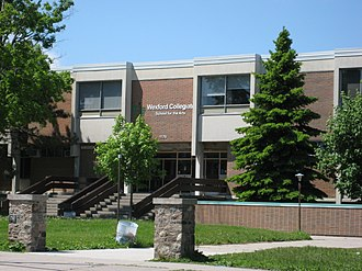 Wexford, Toronto - Wexford Collegiate School for the Arts is a public secondary school in Wexford.
