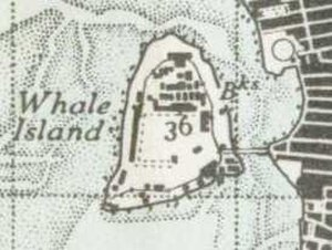 HMS Excellent (shore establishment) - Whale Island in 1945