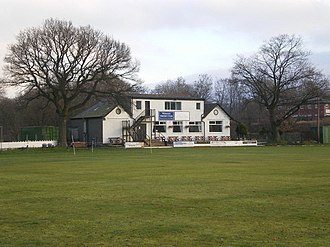 Roses Match - The Station Road Ground in Whalley, site of the first ever Roses Match