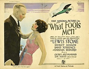 What Fools Men - Lobby card