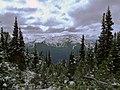 Whistler Mountain from Blackcomb, early October snow (3987544976).jpg