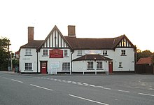The White Horse, Capel's only pub.