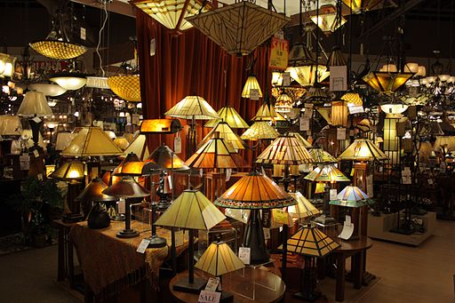 Wide array of lamps