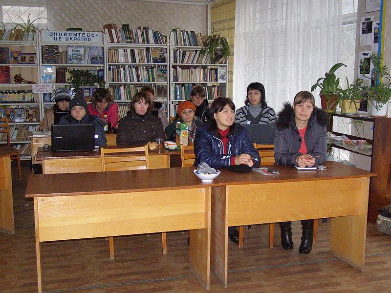 Віківишкіл у Марківці (5 листопада). Автор фото — Pavlo1, ліцензія CC-BY-SA-4.0