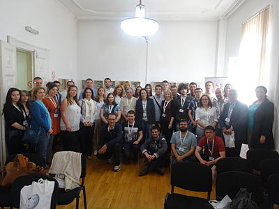 WikiLive 2015, Conference group photo, 01.JPG
