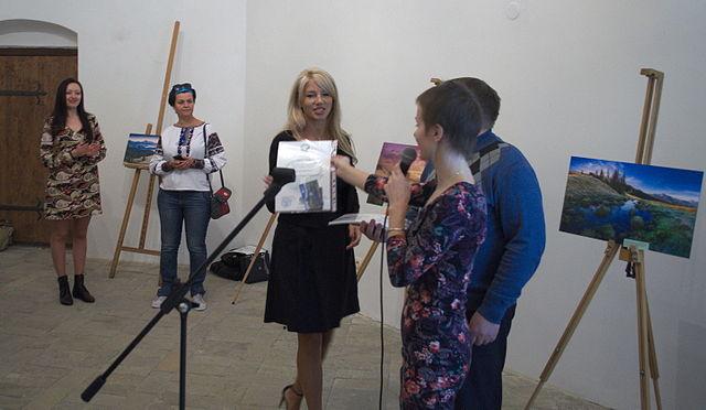 Анна Стрижекінь, авторка роботи, яка посіла четверте місце