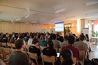Wikimedia Hackathon Vienna 2017-05-19 opening 05.jpg