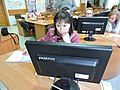 Wikiworkshop at Library of S. Kuznets KhNUE 2019-02-13 by Kharkivian 03.jpg