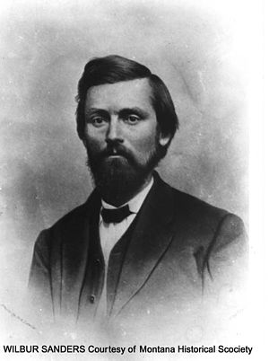 United States congressional delegations from Montana - Wilbur F. Sanders, Montana's first senator