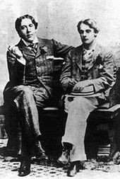 Oscar Wilde and Lord Alfred Douglas in 1893