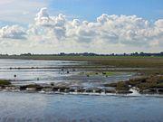 Blick über das Wattgebiet bei Mariensiel