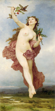 Hemera, deur William-Adolphe Bouguereau (1881)
