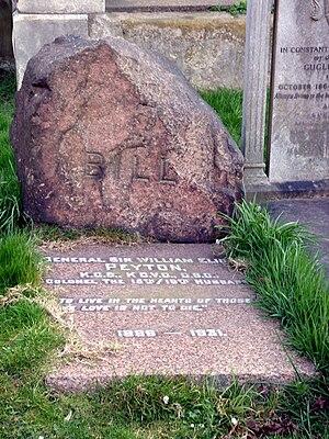 William Peyton - Funerary monument, Brompton Cemetery, London
